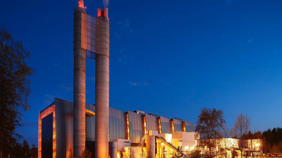 Klemetsrud (Oslo) waste management and energy recovery CCS project